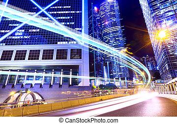 光, 現代, 交通, 城市