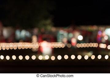 光, 聖誕節, 背景, 迷離