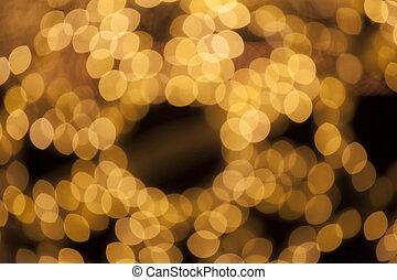 光, 聖誕節, 被模糊不清