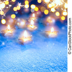 光, 藝術, 聖誕節, 背景