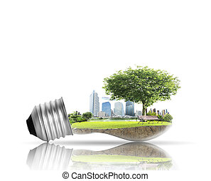 光, 选择, 概念, 能量, 灯泡