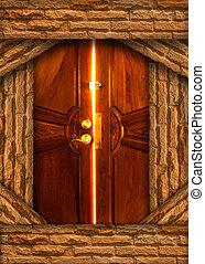 光, 門, bulkhead