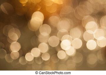 光, 鮮艷, 背景, 被模糊不清