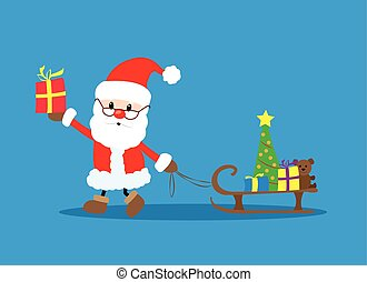 克勞斯, 聖誕老人