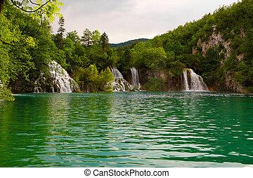 克羅地亞, plitvice, 湖, 國家公園