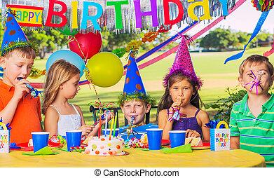 党, 孩子, 生日