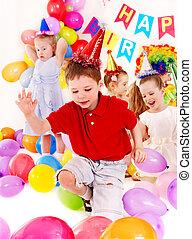 党, 生日, 孩子