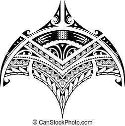 入れ墨, スタイル, 区域, polynesian, 民族, bicep