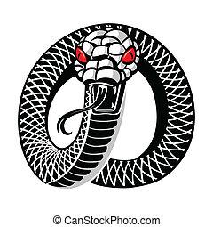 入れ墨, ヘビ