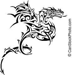 入れ墨, 種族, ドラゴン