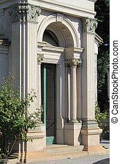 入口, の, a, ルネッサンス, 建物