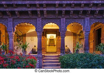 入口, 古代,  jodhpur, 宮殿