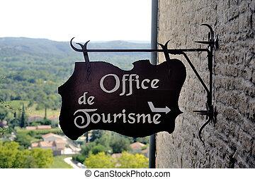 入口, 指摘, 観光客, オフィス, 印