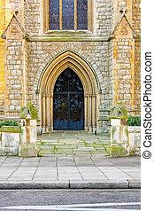 入口, 教会