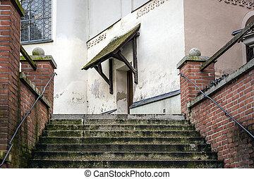 入口, 樓梯, 教堂