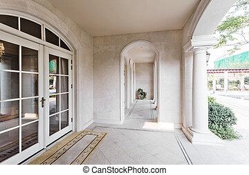 入口, ......的, a, 房子