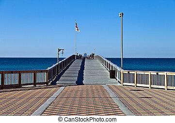入口, 碼頭, 釣魚