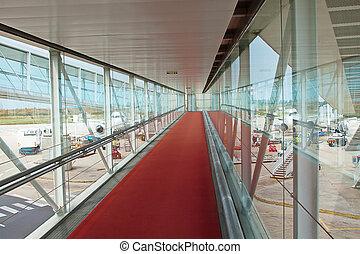 入口, 空港