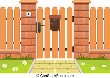 入口, 门, 邮箱