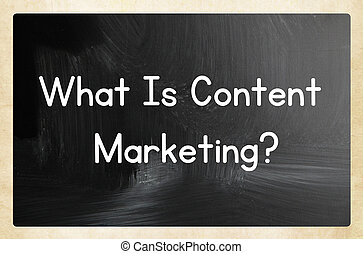 內容, 什麼, marketing?
