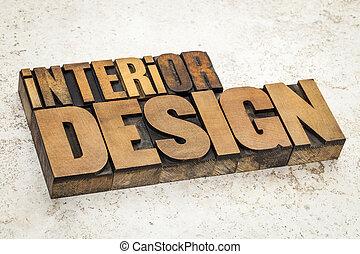 內部設計, 在, 木頭, 類型