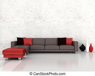 內部, 現代的房間