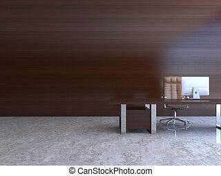 內部, 3d-rendering