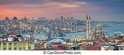 全景, 伊斯坦布爾