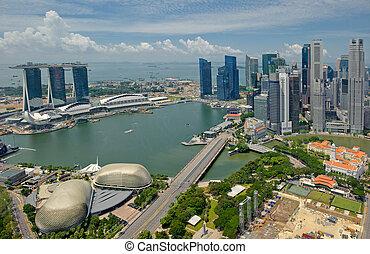 全景, 在中, 新加坡