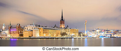 全景, 斯德哥爾摩, 都市風景