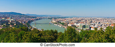 全景, ......的, 布達佩斯, 匈牙利