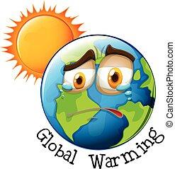 全球变暖, 图标