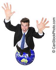 全球的商務, 成功, 人