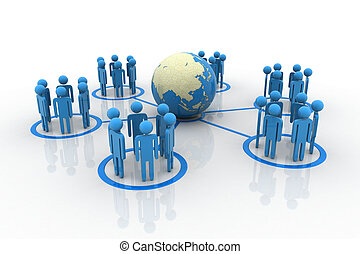 全球, 合作关系