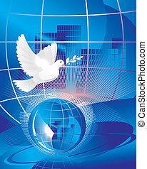 全球, 和平, 鴿