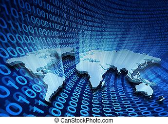全球, 因特網商業