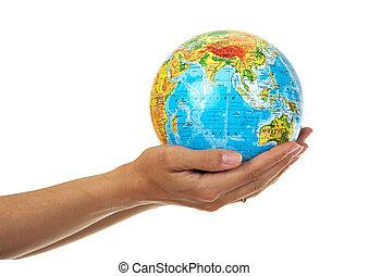 全球, 婦女` s, 手