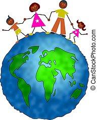 全球, 家庭