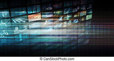 全球, 數字技術, 概念