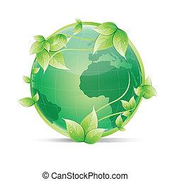 全球, 生態學