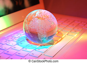 全球, 由于, 高技術, 背景
