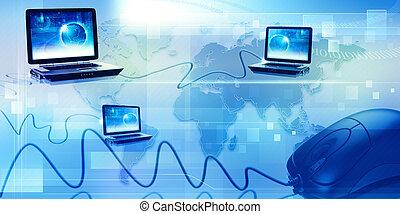 全球, 資訊網, 摘要, techno, 背景