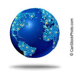 全球, 連接