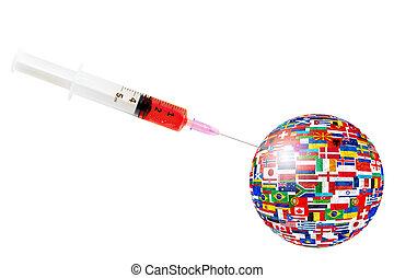 全球, covid-19, 爆發