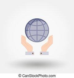 全球, hands.