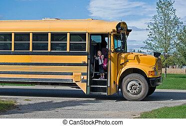 公共汽車, 騎
