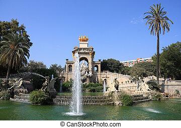 公園, バルセロナ