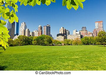 公園, 中央である, ヨーク, 新しい