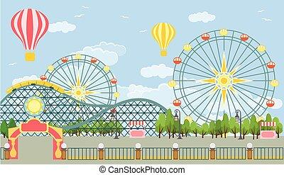 公園, 娯楽