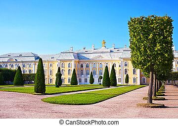 公園, 宮殿
